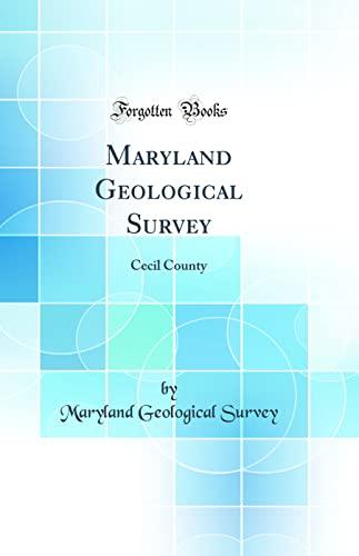 Maryland Geological Survey By Maryland Geological Survey
