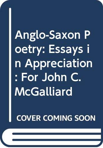 Anglo-Saxon Poetry By Edited by Dolores Warwick Frese