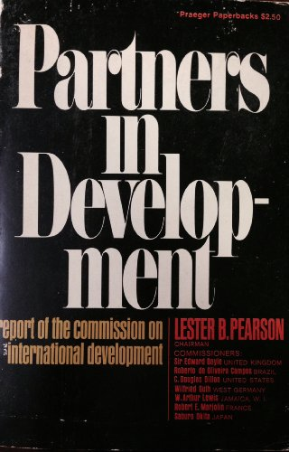 Partners in Development By Lester B. Pearson