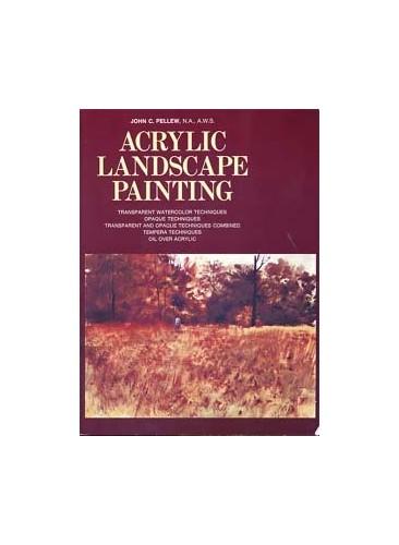 Acrylic Landscape Painting By John C. Pellew