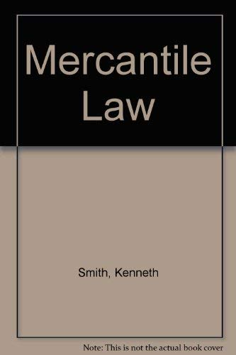 Mercantile Law By Kenneth Smith