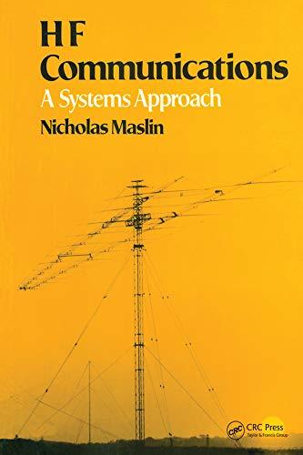 HF Communications By Nicholas M Maslin