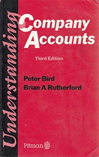 Understanding Company Accounts By Peter Bird