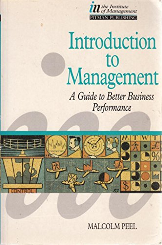 Introduction to Management By Malcolm Peel