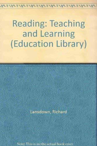 Reading By Richard Lansdown