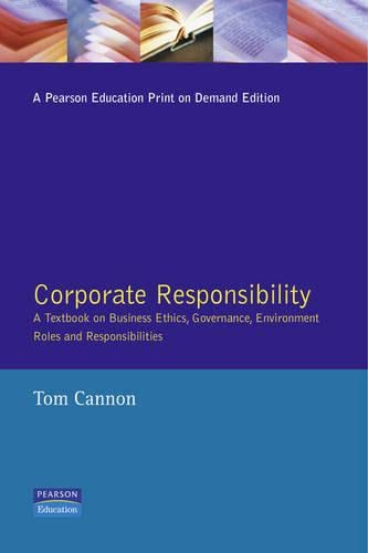 Corporate Responsibility By Tom Cannon