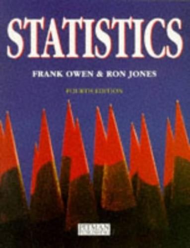 Statistics Book By Frank Owen