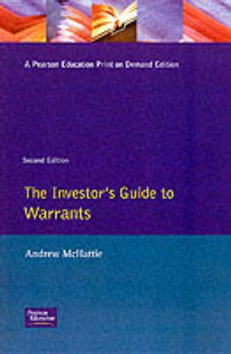 Investors Guide to Warrants By Andrew McHattie