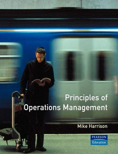 Principles Of Operations Manangement By Mike Harrison