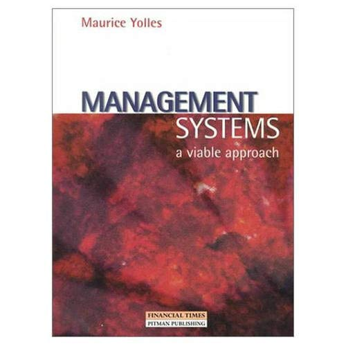 Management Systems By Maurice Yolles
