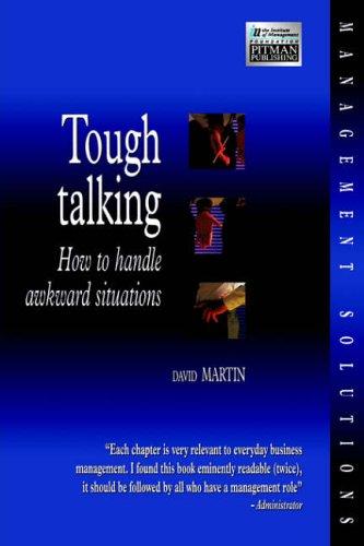 Tough Talking By David Martin