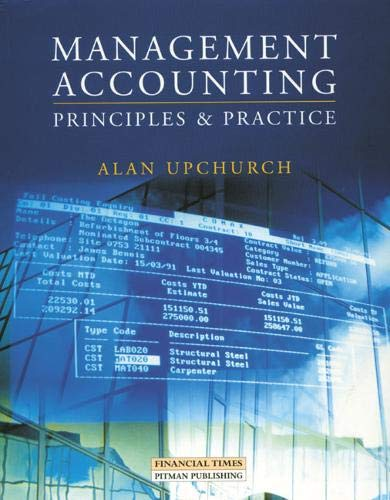 Management Accounting By Alan Upchurch