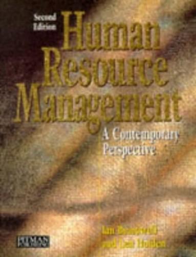 Human Resource Management By Ian Beardwell
