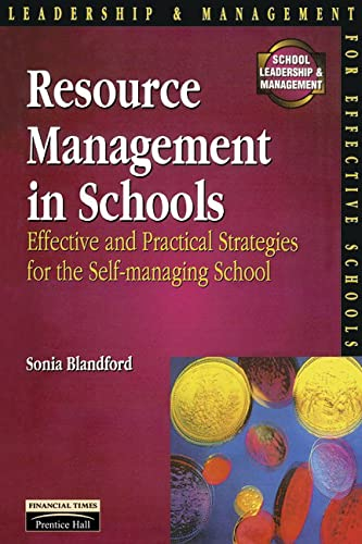 Resource Management in Schools By Sonia Blandford