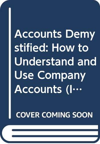 Accounts Demystified By Anthony Rice