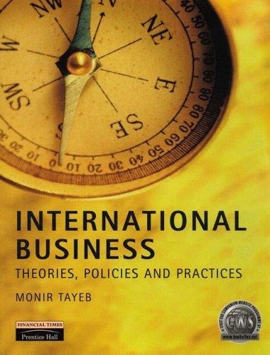 International Business by Monir H. Tayeb