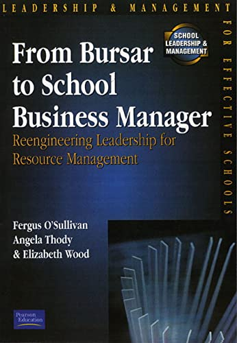 From Bursar To School Business Manager By Fergus. O'Sullivan