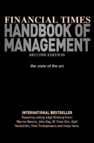 Financial Times Handbook of Management Edited by Stuart Crainer