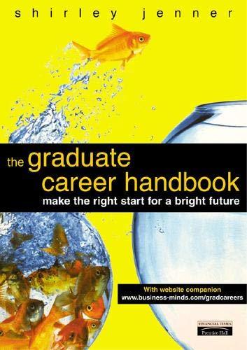 Graduate Career Handbook By Shirley Jenner