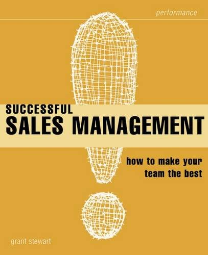 Successful Sales Management By Grant Stewart