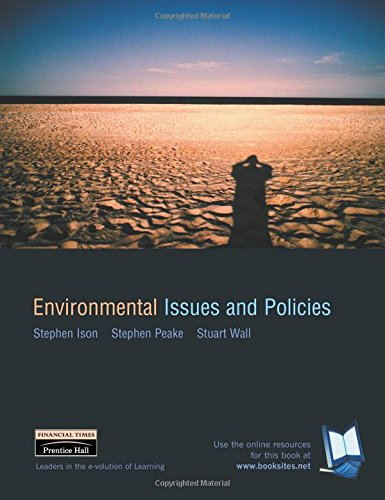 Environmental Issues and Policies By Stephen Ison