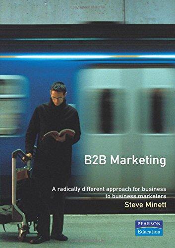 B2B Marketing By Steve Minett