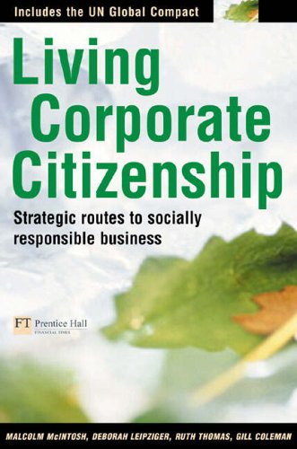 Living Corporate Citizenship By Malcolm Mcintosh