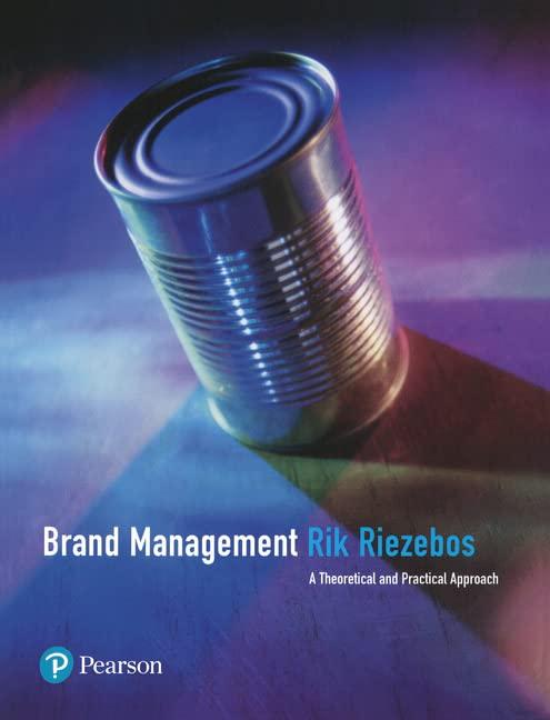 Brand Management By Rik Riezebos