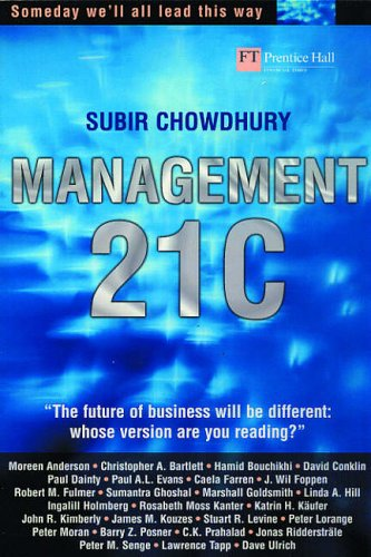 Management 21C By Subir Chowdhury