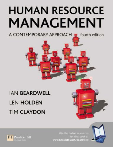 Human Resource Management: A Contemporary Approach By Ian Beardwell