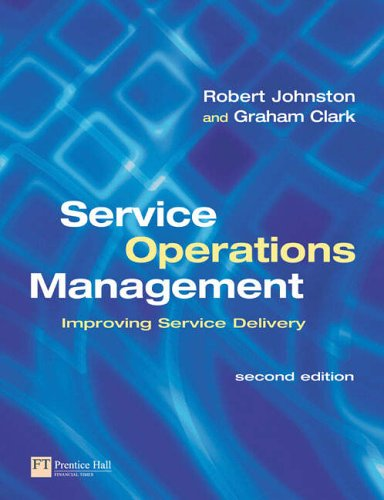 Service Operations Management By Graham Clark