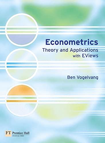 Econometrics By Ben Vogelvang