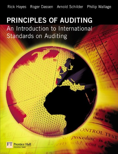 Principles of Auditing By Rick Hayes