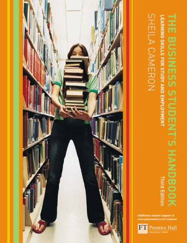 The Business Student's Handbook By Sheila Cameron