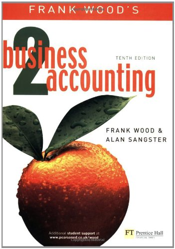 Business Accounting Vol 2: v. 2 By Frank Wood