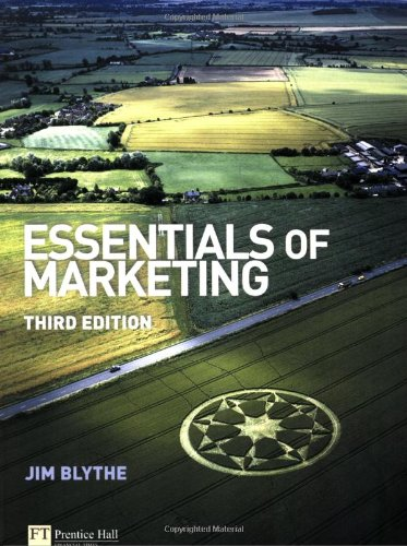 Essentials of Marketing By Jim Blythe