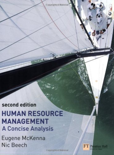 Human Resource Management By Eugene F. McKenna