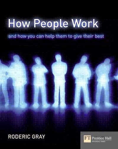 How People Work By Roderic Gray