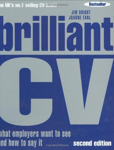 Brilliant CV By Jim Bright