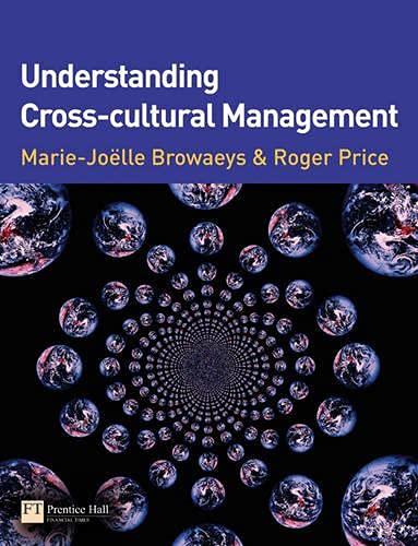 Understanding Cross-cultural Management By Marie-Joelle Browaeys