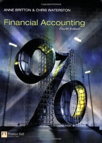 Financial Accounting By Anne Britton