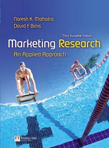 Marketing Research By Naresh Malhotra