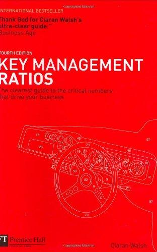 Key Management Ratios By Ciaran Walsh