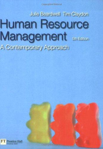 Human Resource Management By Tim Claydon