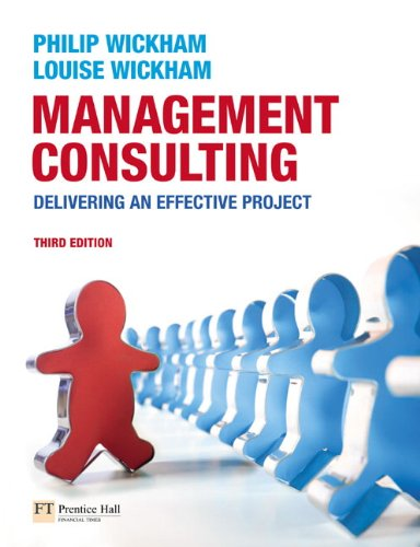 Management Consulting By Philip A. Wickham