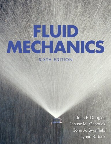 Fluid Mechanics By J. F. Douglas