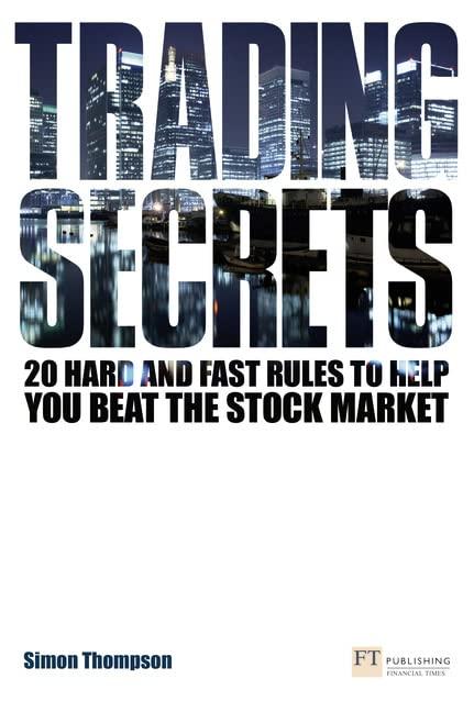 Trading Secrets By Simon Thompson