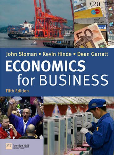 Economics for Business 5th edition By John Sloman