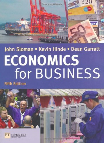 Economics for Business & CWG pack By John Sloman