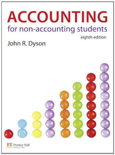 Accounting for Non-Accounting Students By John R. Dyson